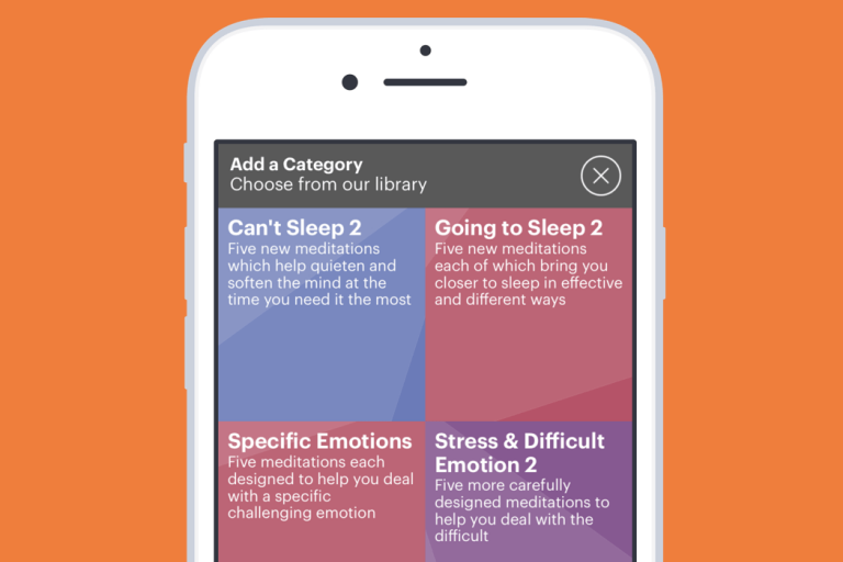 Buddhify app screenshot