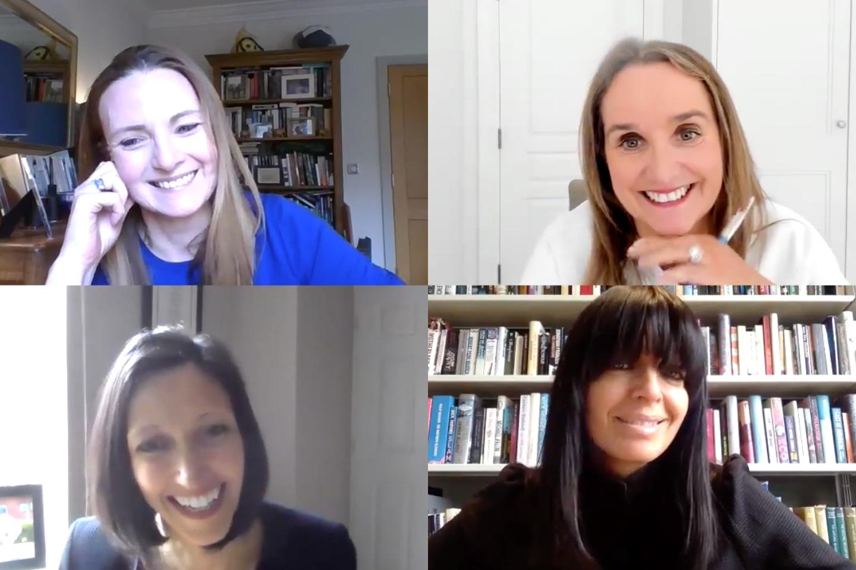(Clockwise from top left) Helen Lamprell, Anne Sheehan, Claudia Winkleman, Shelley Malton on International Women's Day 2021