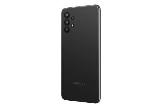 illustrative photo of the rear of the Samsung Galaxy A32 5G