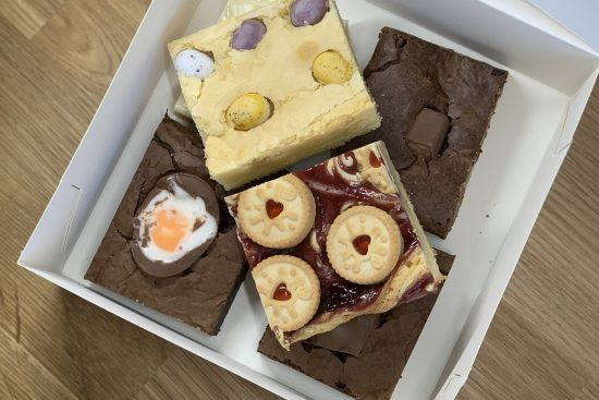 Scrumbles cake box