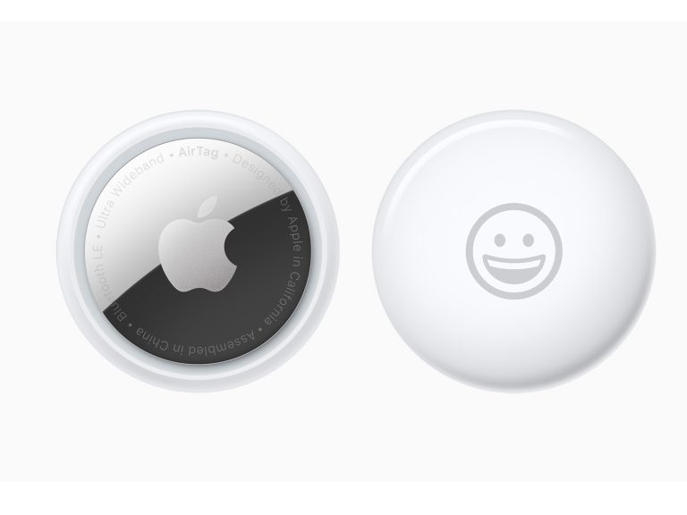 illustrative image of an Apple AirTag