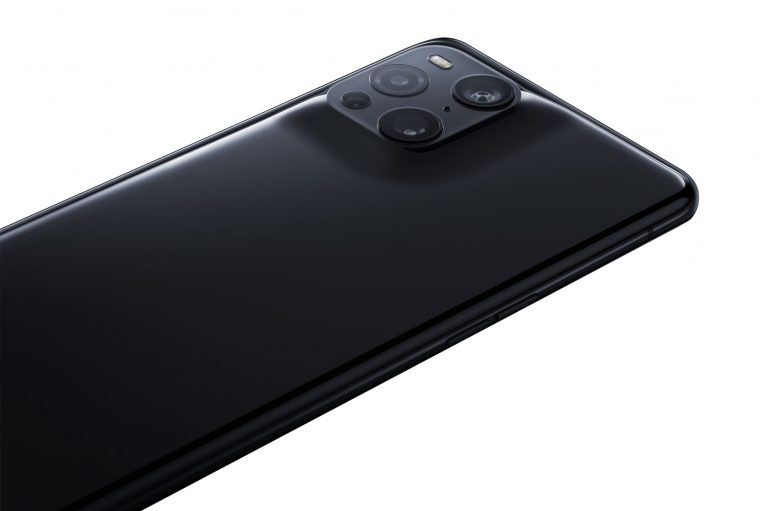 image of the Oppo Find X3 Pro's cameras