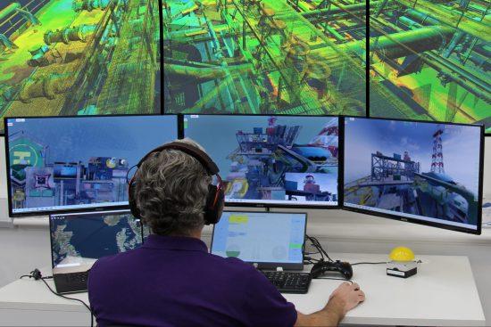 sees.ai drone operator in remote control centre