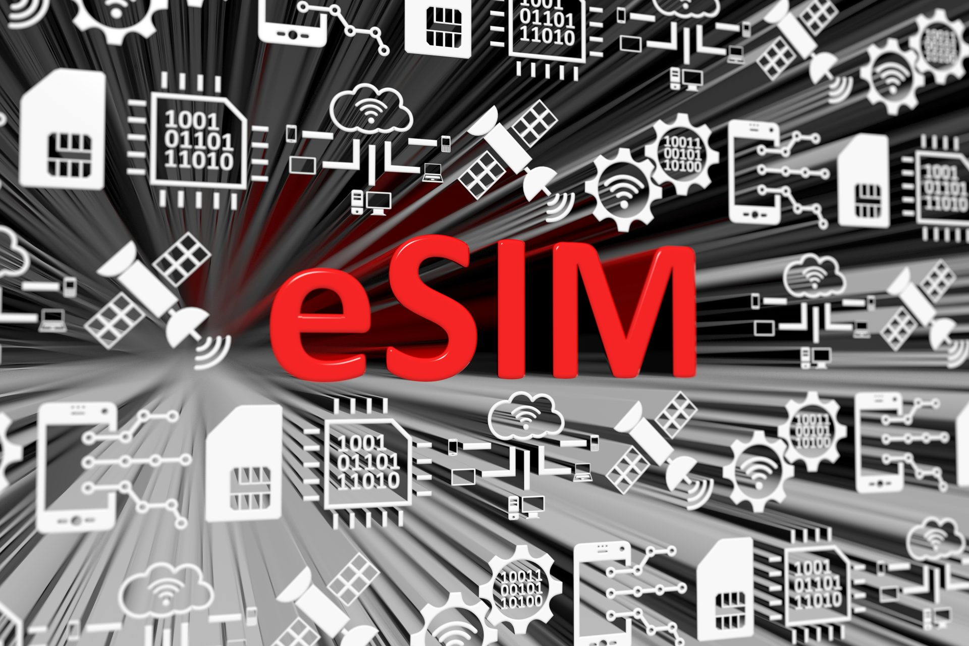 eSIM graphic
