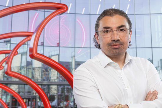 Ahmed Essam, CEO, Vodafone UK - Speechmark
