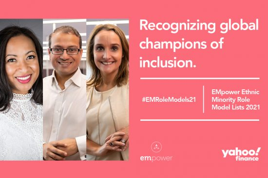 EMpower Ethnic Minority Role Model Lists 2021 - Vodafone Winners