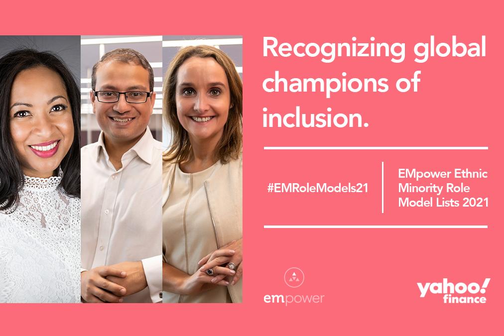 EMpower Ethnic Minority Role Model Lists 2021 - Vodafone Winners