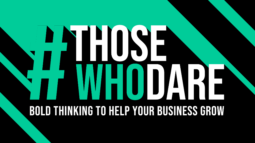 ThoseWhoDare event logo