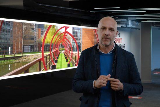 Andrea Dona at Vodafone Reinvent 2021