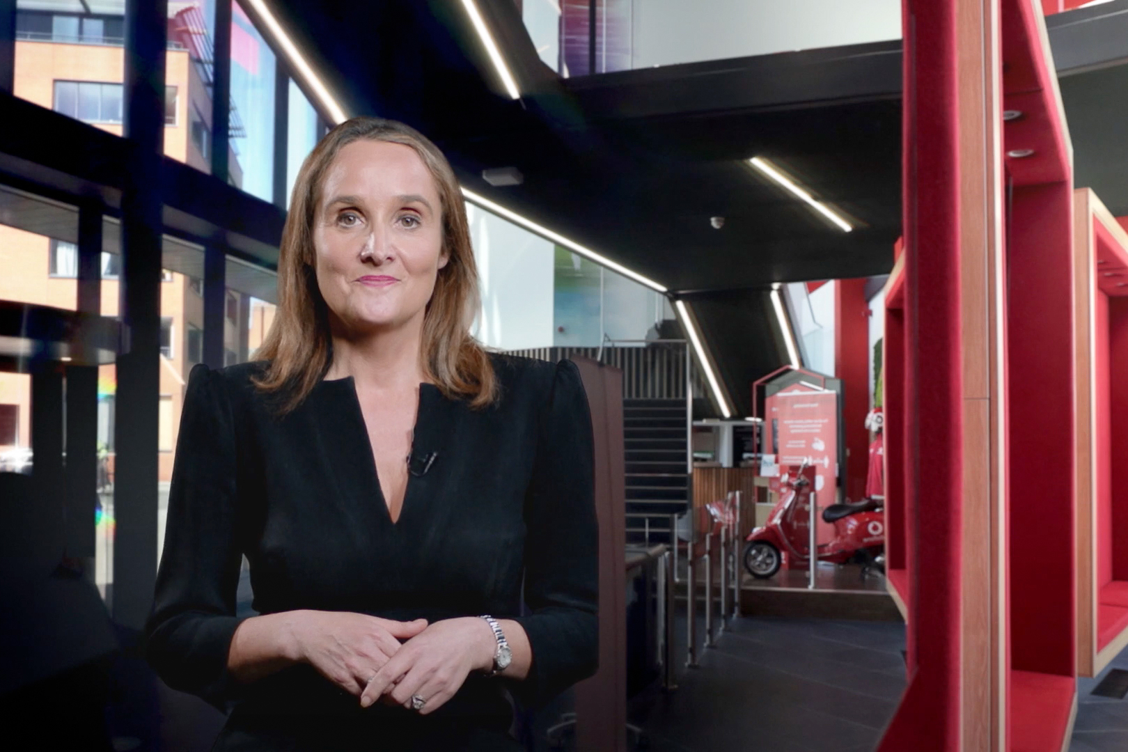 Anne Sheehan at Vodafone Reinvent 2021