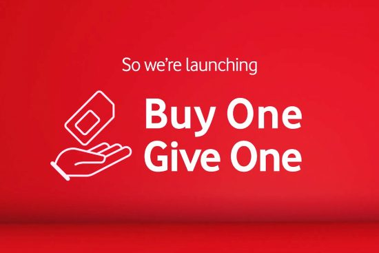 We're launching Buy One Give One