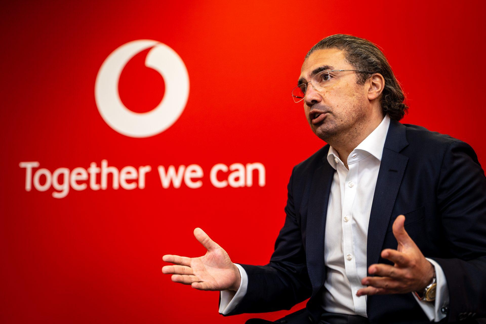 Ahmed Essam, CEO, Vodafone UK, at Vodafone Reinvent 2021