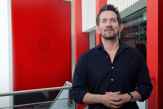 Max Taylor at Vodafone Reinvent 2021