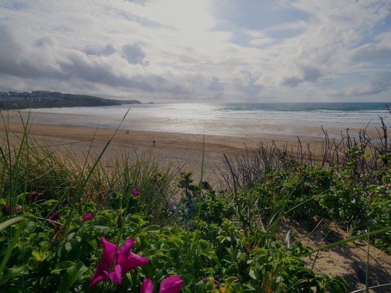 photo of Fistral beach, Cornwall