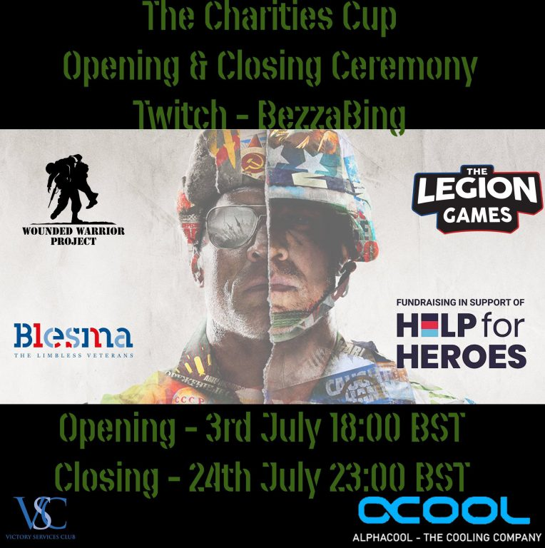 Charities Cup flyer