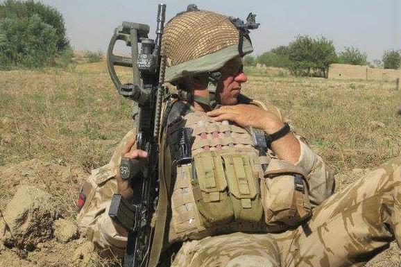 Jack Cummings in Afghanistan
