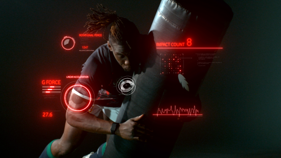 promotional graphic for Vodafone PLAYERConnect
