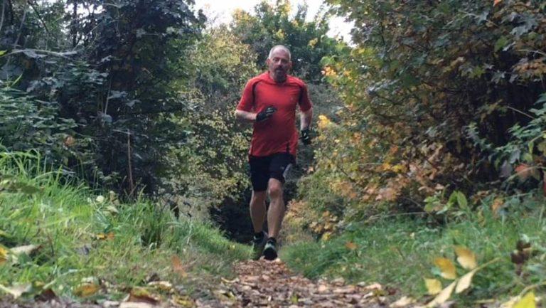 Dave Davidson running