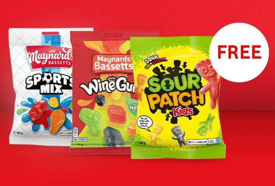 Free sweets, cheap cinema tickets and more from Vodafone VeryMe