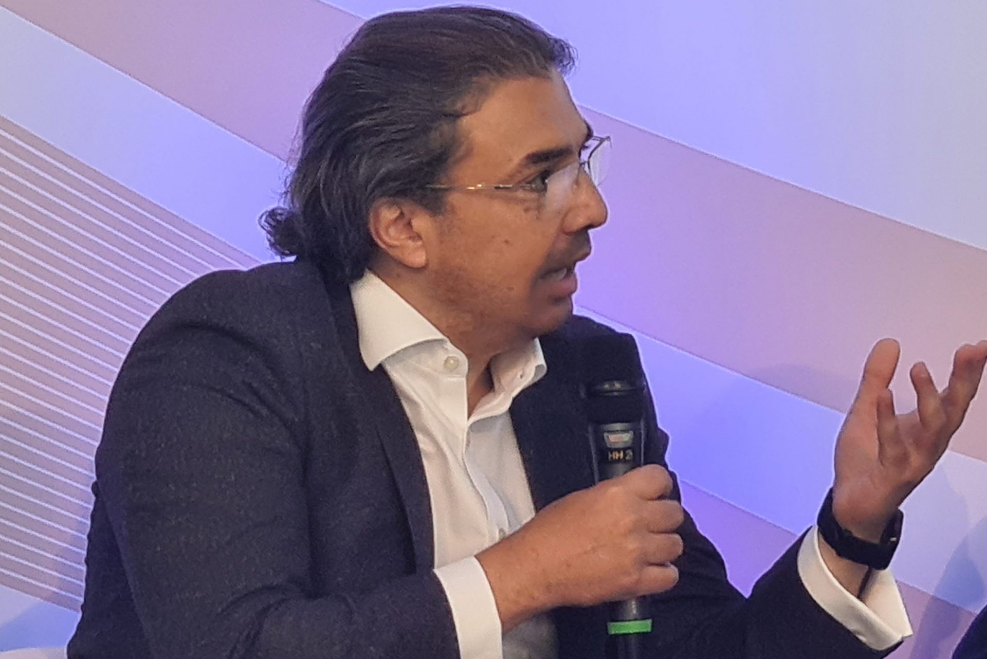 Ahmed Essam CEO Vodafone UK at Connected Britain 21 Sep 2021