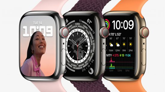 The new Apple Watch Series 7 – now available to pre-order at Vodafone, the UK's unbeatable network for reliability