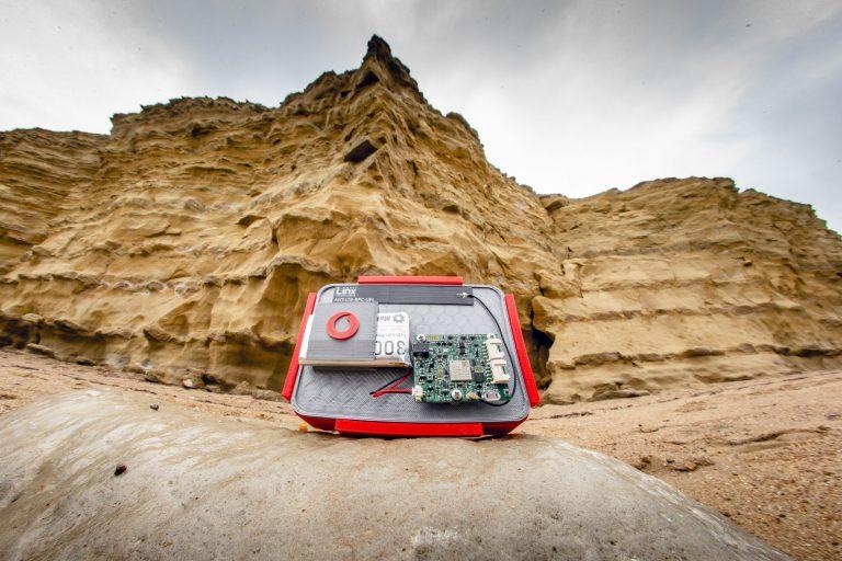 Vodafone cliff erosion sensor