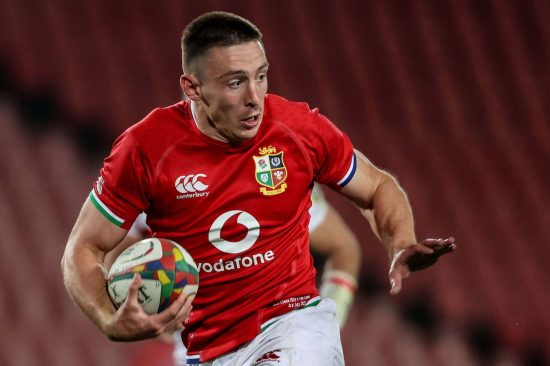 Josh Adams playing for the British & Irish Lions in South Africa 2021